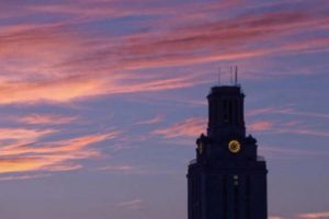 Longhorn Lights Out: Tower Darkens for Energy Savings