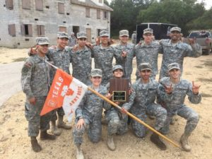 Tower Shines for Army ROTC