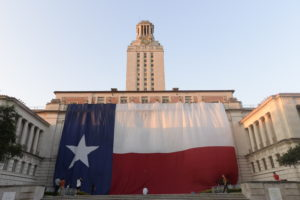 Tower Shines for Texas Independence Day