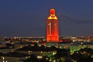 Tower Turns Orange for Men's Swimming & Diving National Title