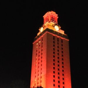 Tower Shines for Texas Law's National Championship