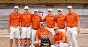 Tower Turns Orange for Men's Golf, Darkens for National Parks Service Centennial Celebration Rehearsal