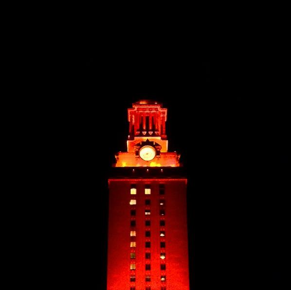 Orange Tower Honors Texas Speech Team's National Title