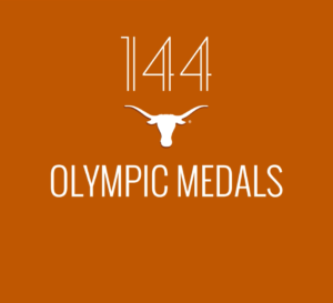 Orange Tower Honors Longhorn Olympians