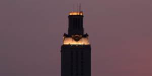 Tower Darkens for UT Remembers