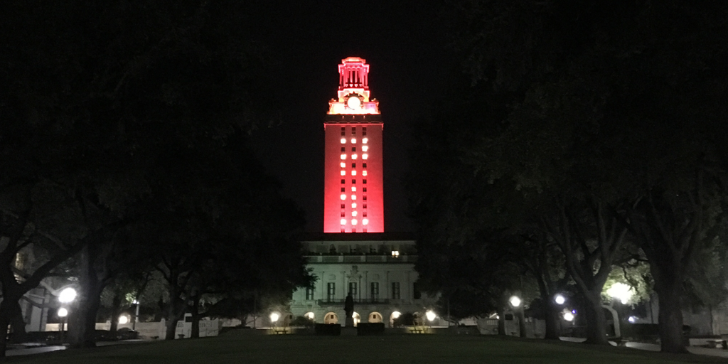 The UT Tower will be lit orange Tuesday September 5 to welcome new students to c&us. And as a special welcome to the Class of 2021 the Toweru0027s windows ... & Orange Tower Welcomes New Students - UT Tower | The University of ...