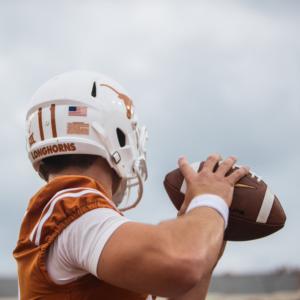 Light the Tower: Texas Football Wins, 40-34