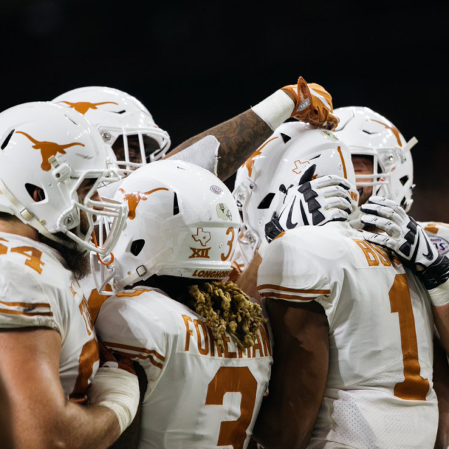 "<span class=""atmosphere-large-text"">11/10/2018</span><span class=""intro"">LIGHT THE TOWER: TEXAS BEATS TEXAS TECH, 41-34</span>"