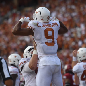 Light the Tower: Texas beats Oklahoma, 48-45