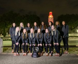 Tower Shines for Texas Volleyball
